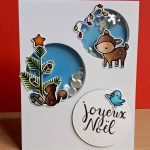 Lawn Fawn – Cheery Christmas Shaker Card
