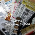 VIDEO – Final Cardmaking Haul of 2016
