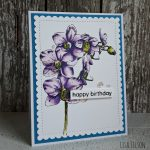 Studio Light – A Happy Birthday Orchid for Snow