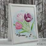 Just Because – Watercolouring with Gansai Tambi