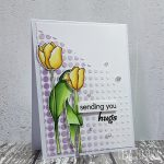 Sending You Hugs – Embossing Paste & Stencils