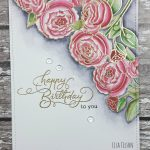 Clearly Besotted To You With Love – The Flower Challenge Guest Designer
