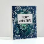 VIDEO – Hero Arts Merry Christmas using Watercolor