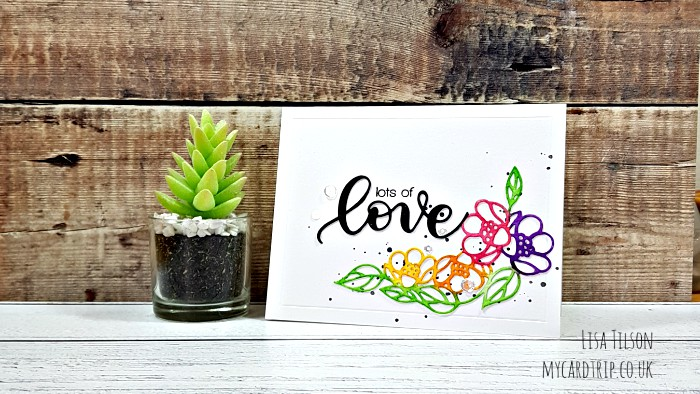 VIDEO – Simon Says Stamp Sending Sunshine Release – Watercolouring Die Cuts