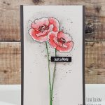 VIDEO – Guest Designing for My Favorite Things, Painted Poppies and a Giveaway!