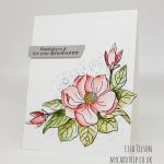Magnificent Magnolia – Simon Says Stamp and Clearly Besotted STAMPtember Collaboration