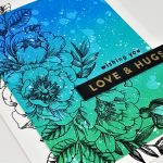 Wishing You Love & Hugs – Using Analogous Colours