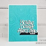 Simon Says Stamp DieCember – You're Doing Awesome